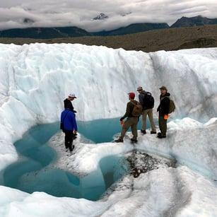 Alaska Glacier Pool